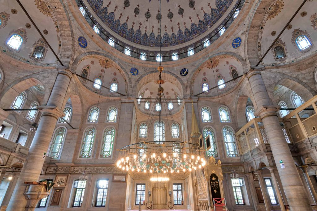 Interior of Eyup Sultan Mosque - İstanbul