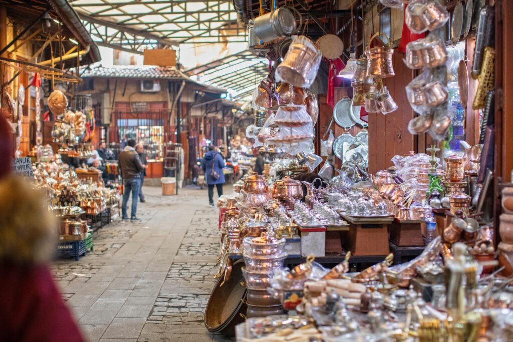 gaziantep coppersmiths bazaar