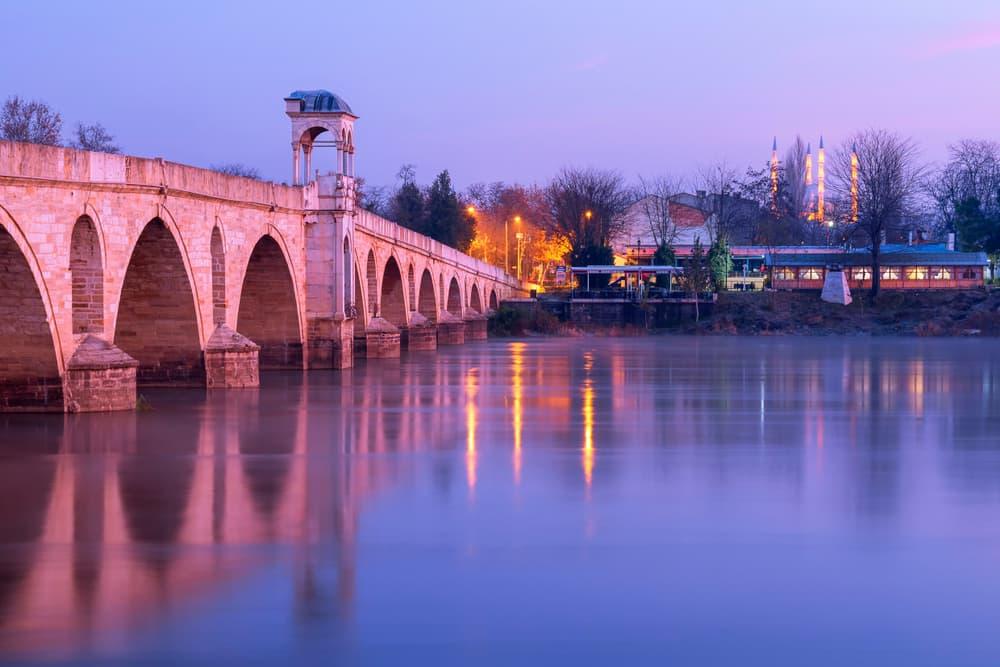 Meric ( Mecidiye ) Bridge