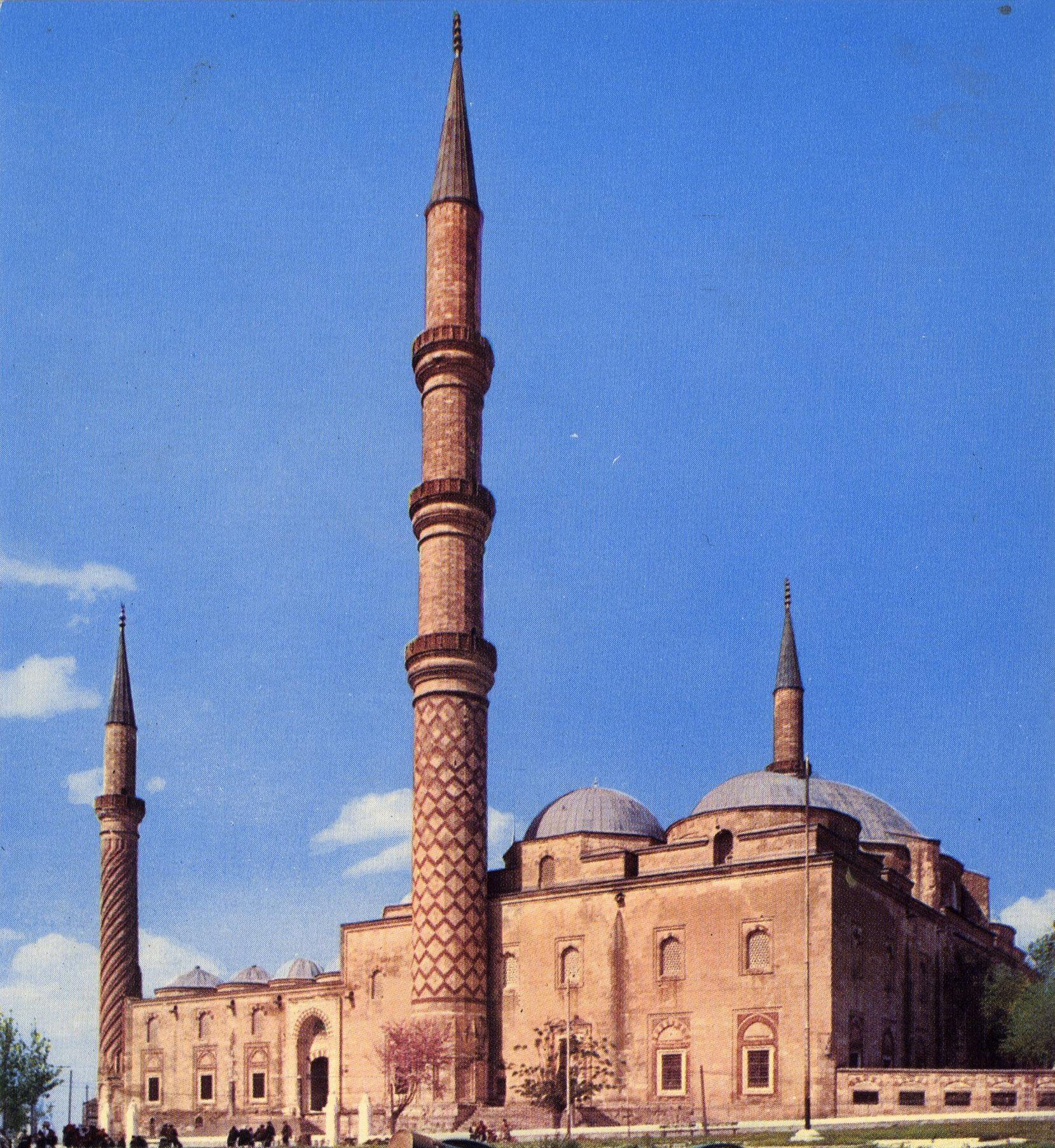 Three Serefeli Mosque Edirne